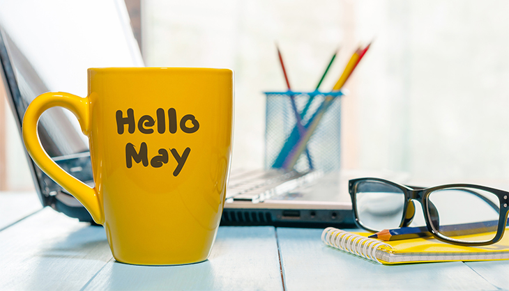 Hello May mood picture