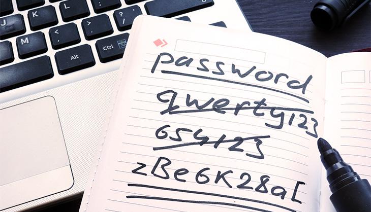Sicheres Passwort wählen
