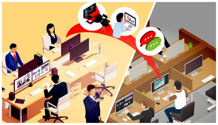 Die Teamwork-Features von AnyDesk Version 6