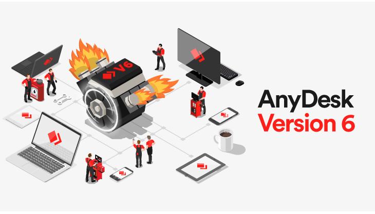 AnyDesk Remote-Desktop Version 6