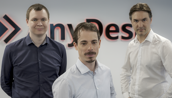 The founders of AnyDesk