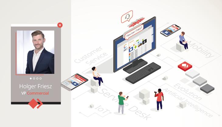 Holger Friesz, VP Commercial bei AnyDesk, berichtet von der Evolution des Kundenservice.